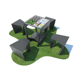 Multigame Table with 4 seats
