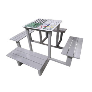 Vandal-proof Multigame Table